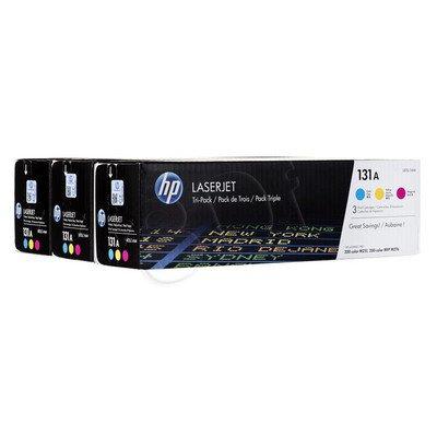 HP Toner HP131A=U0SL1AM, Zestaw CMY, CF211A+CF212A+CF213A
