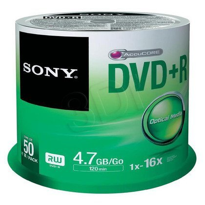 DVD+R Sony 50DPR47SP 4,7GB 16x