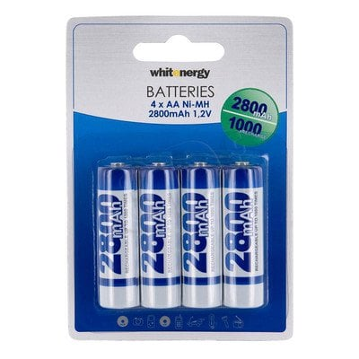 WHITENERGY AKUMULATOR 4xAA 2800 mAh Ni-MH