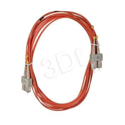 ALANTEC patchcord światłowodowy MM LSOH FOC-SCSC-5MMD-5 5m SC-SC duplex 50/125 pomarańczowy