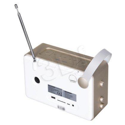 Radioodtwarzacz przenośny Blaupunkt PP16DAB biało-złoty