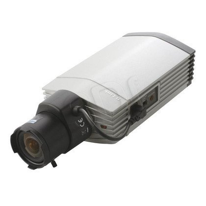 D-LINK [DCS-3710] Kamera IP kierunkowa [wewnętrzna] [1.3 Mega-Pixel] [PoE 802.3af] [MPEG4] [2-way audio, wymienne obiektywy, slot SD/SDHC, ICR, WDR]