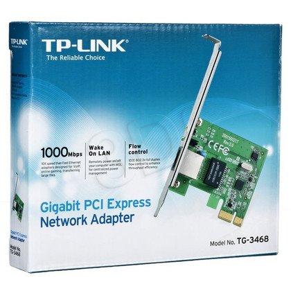 TP-LINK Karta sieciowa TG-3468 PCIe 1Gb/s RJ45
