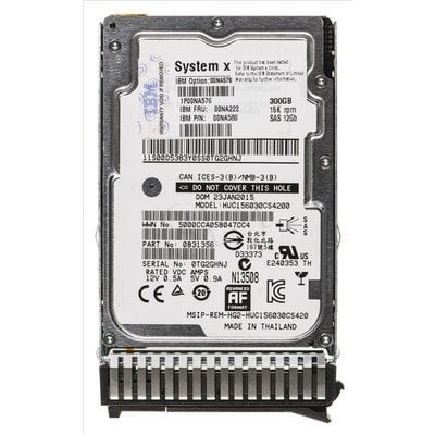 "Dysk HDD LENOVO Express 2,5"" 300GB SAS-3 15000obr/min Kieszeń hot-swap"