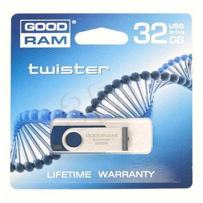 GOODDRIVE FLASHDRIVE 32GB USB 2.0 TWISTER Blue