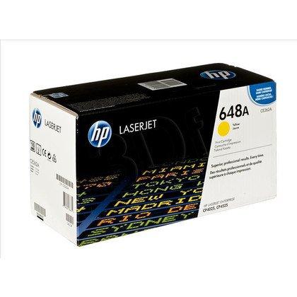 HP Toner Żółty HP648A=CE262A, 11000 str.