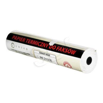 NC Rolka termiczna do faxu OMEKO 210MMx30M