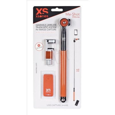AKCESORIA GOPRO XSORIES ME-SH DELUXE BLACK/ORANGE
