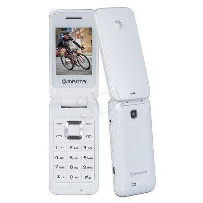 "Telefon Manta TEL2405 2,4"" biały"