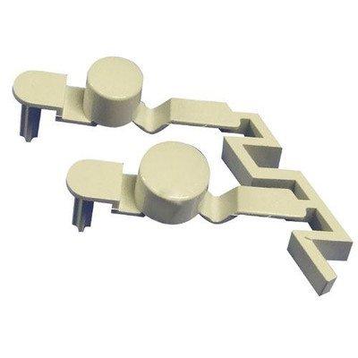 Przycisk (klawisz) wyłącznika startu pralki podwójny (481241029517)