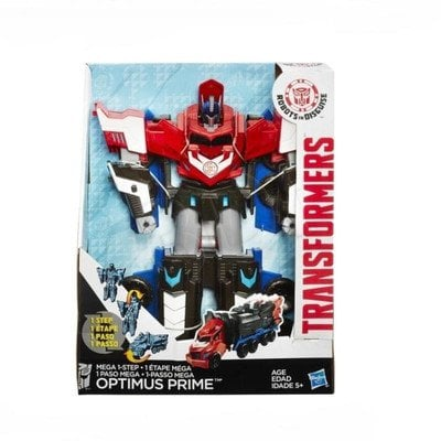 TRA TRANSFORMERS MEGA ONE STEP OPTIMUS HASBRO B1564