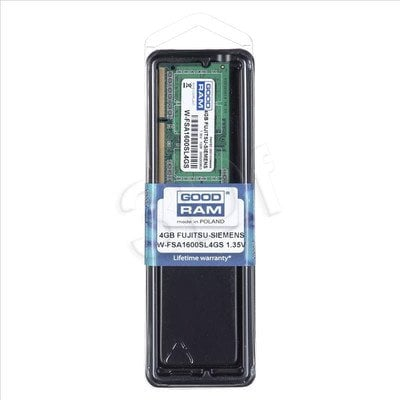 GOODRAM DED.NB W-FSA1600SL4GS 4GB 1600MHz DDR3 1,35V
