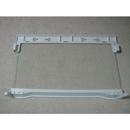 Półki na plastikowe i druciane r Półka szklana nad pojemniki 51.5x31.5 cm Whirlpool (481946678388)