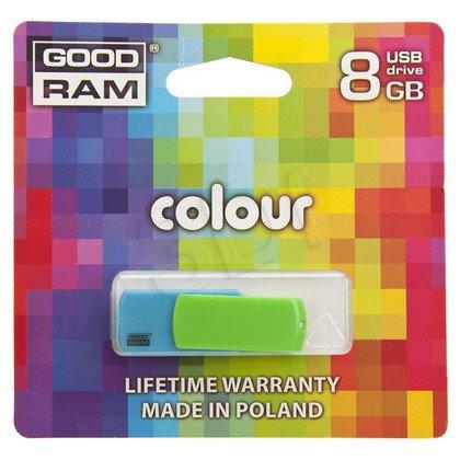 GOODRAM FLASHDRIVE 8192MB USB 2.0 COLOR MIX
