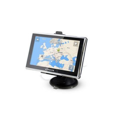 """VORDON NAWIGACJA GPS 5"""" MAPY EUROPY, DOZYWOTNIA AKTUALIZACJA,GRY,FIMY,MUZYKA,ODBLOKOWANA,TRANSMITER FM, BEZ AV V5"""