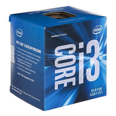 Procesor Intel Core i3 6100 3700MHz 1151 Box