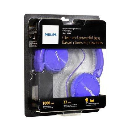 Słuchawki nauszne Philips SHL3060PP/00 (Fioletowy)