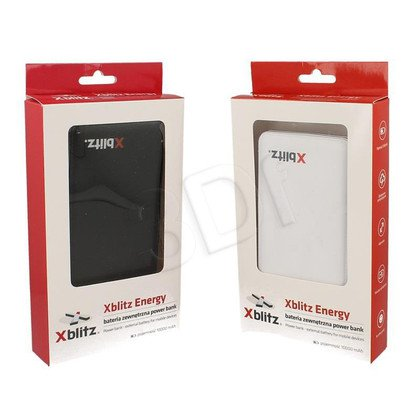 XBLITZ POWER BANK ENERGY 1000mAh CZARNY