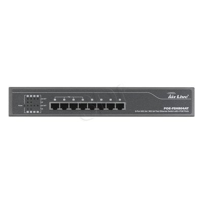 Switch AIRLIVE POE-FSH804AT 8x 10/100 4x PoE af/at
