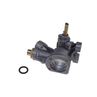 Zawór (kurek) gazowy palnika małego płyty AKM Whirlpool (481231028116)