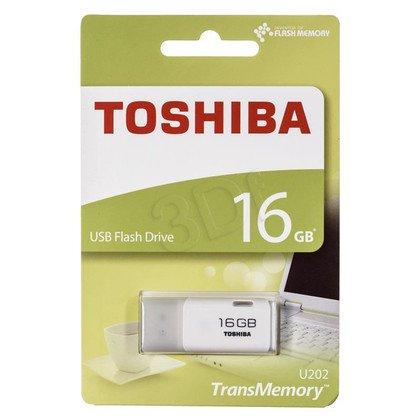 TOSHIBA Flashdrive U202 16GB USB 2.0 biały