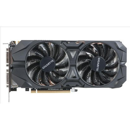 GIGABYTE GeForce GTX 960 4096MB DDR5/128bit DVI/HDMI/DP PCI-E (1304/7010) (wer. OC - OverClock) (went. WindForce 2)