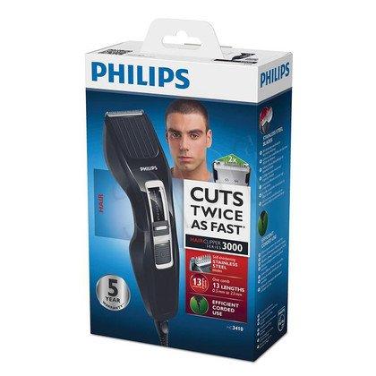 Maszynka do strzyżenia Philips HC3410/15 (Czarny)
