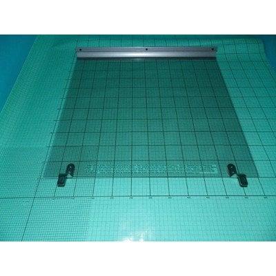 Zespół nakrywy szklanej 601 kwadrat wykończenia srebrne (9044623)
