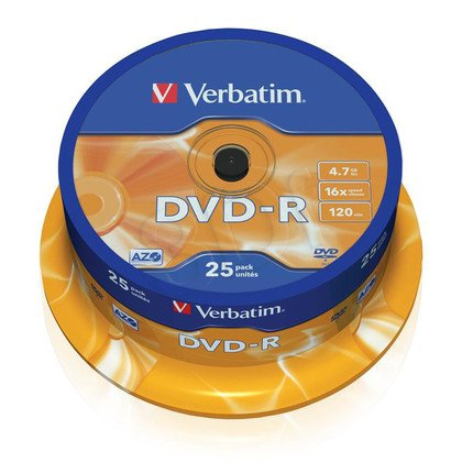 DVD-R Verbatim 4,7GB 16x