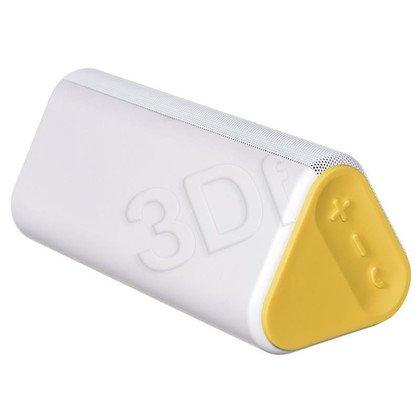 Głośnik bezprzewodowy HP Roar Wireless Speaker biało-żółty