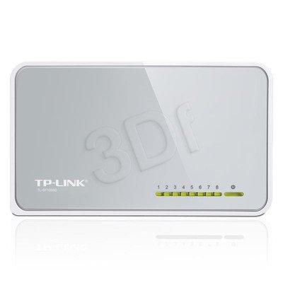 TP-LINK [TL-SF1008Dv.7]Przełącznik typu desktop, 8 portów 10/100Mb/s