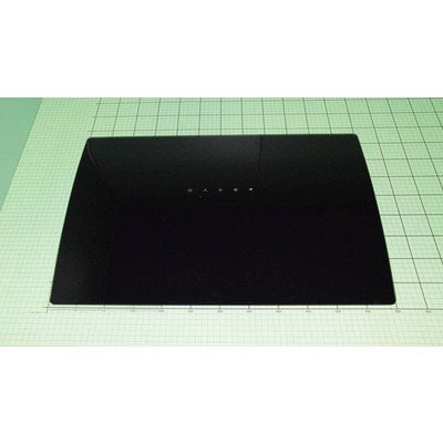 Szyba okapu czarna (1039287)