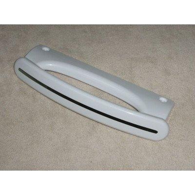 Uchwyt drzwi biały - srebrny pasek Whirlpool (481249818347)