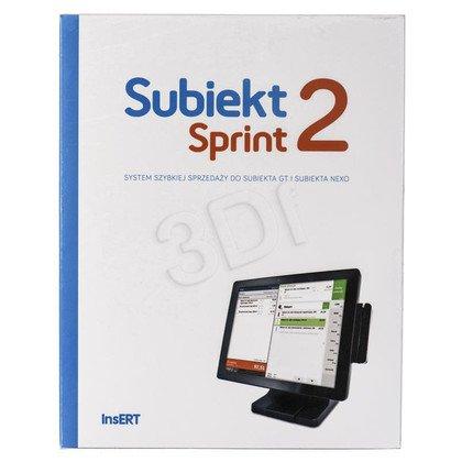 INSERT SUBIEKT SPRINT 2