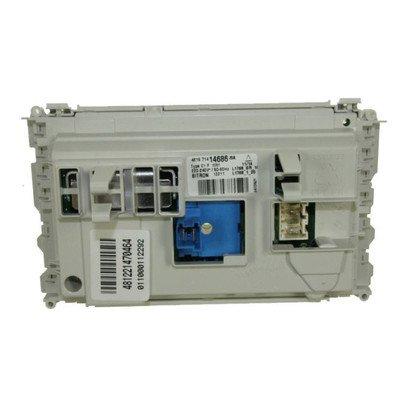 Elementy elektryczne do pralek r Moduł elektroniczny skonfigurowany do pralki Whirpool (481221470784)
