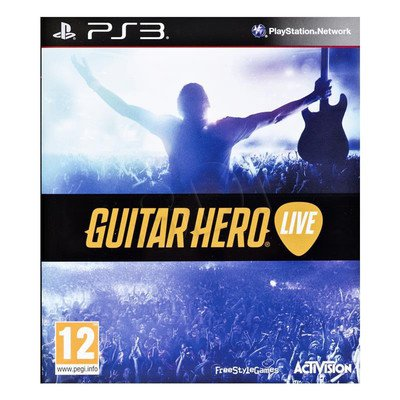 Gra GP3 Guitar Hero Live + gitara