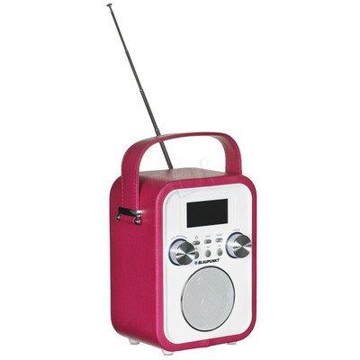 Radioodtwarzacz Blaupunkt PP20PK Różowo-biały