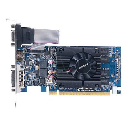 GIGABYTE GeForce GT 610 1024MB DDR3/64bit DVI/HDMI PCI-E (810/1333) (Low Profile)