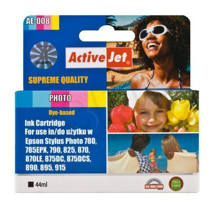 ActiveJet AE-008 tusz foto kolorowy pasuje do drukarki Epson (zamiennik T008)