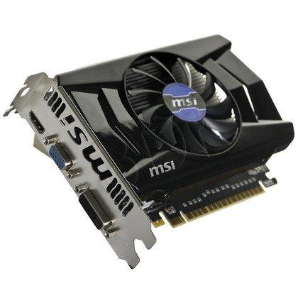 MSI GeForce GTX 750Ti 2048MB DDR5/128bit DVI/HDMI PCI-E (1137/5400) (wer. OC - OverClock) (ver. 1)