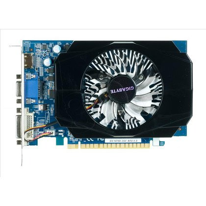 GIGABYTE GeForce GT 730 2048MB DDR3/128bit DVI/HDMI PCI-E (700/1600)