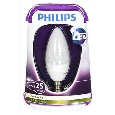 Philips żarówka LED 8718696474914 (świeczka 250lm 4W E14 ciepła biel)