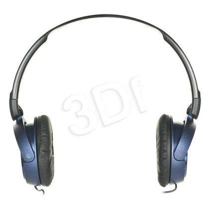 Słuchawki nauszne z mikrofonem Sony MDR-ZX310APL (Niebieski)