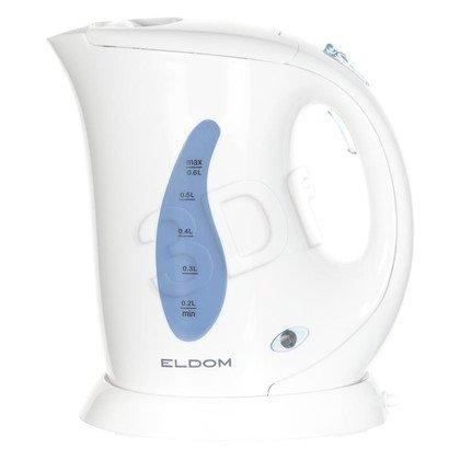 Czajnik elektryczny ELDOM C110 (0,6l 800W Biały)