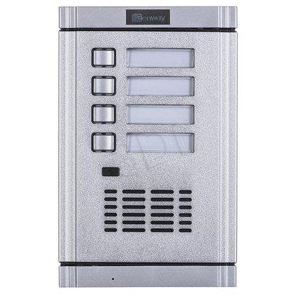 Panel domofonowy WL-02NE-4 Zewnętrzny z 4 przyciskami