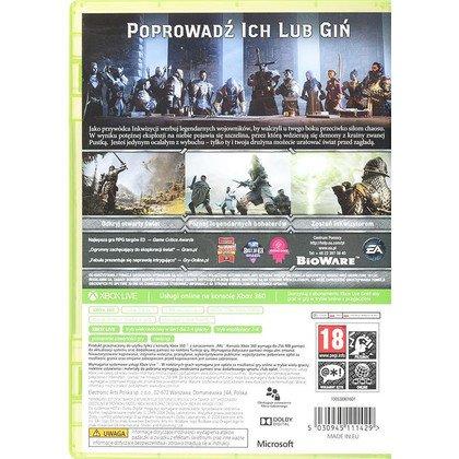 Gra Xbox 360 Dragon Age Inkwizycja