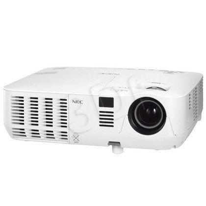 PROJEKTOR NEC V260 DLP SVGA 2600 ANSI 2000:1 2,5Kg