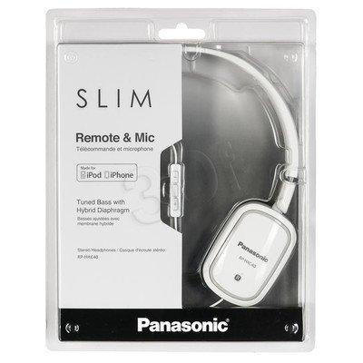 Słuchawki nauszne Panasonic RP-HXC40E-W (Biały)