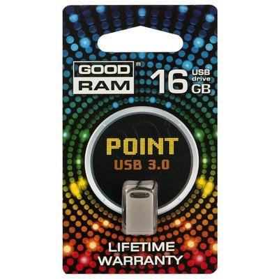 Goodram Flashdrive POINT 16GB USB 3.0 Kremowy