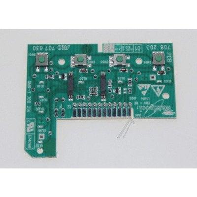 Elementy elektryczne do pralek r Moduł (płytka) wyłączników sensorowych pralki (480111105176)